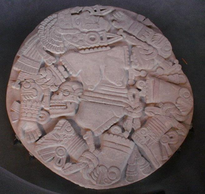 HalimaDoula pierre de Coyolxauhqui