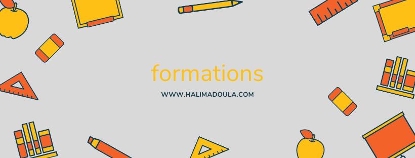 formations de HalimaDoula